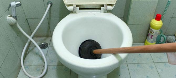 چطور گرفتگی توالت با مدفوع را رفع کنیم؟